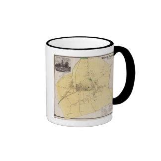 White Plains, NY Ringer Mug