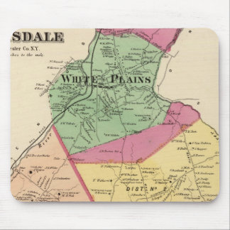 White Plains, Scarsdale towns Mouse Pad