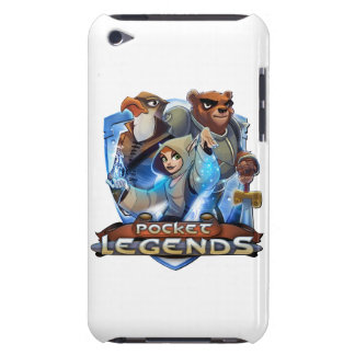 White Pocket Legends iPod Touch case