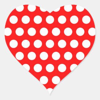 White Polka Dots Stickers