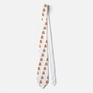 White polkadot owl cake tie