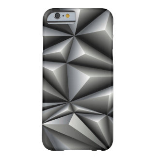 White Polygons Barely There iPhone 6 Case