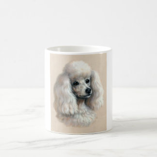 White Poodle Coffee Mug