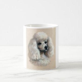 White Poodle Basic White Mug