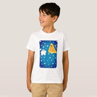 White Popcorn Vs Nacho Original t shirt