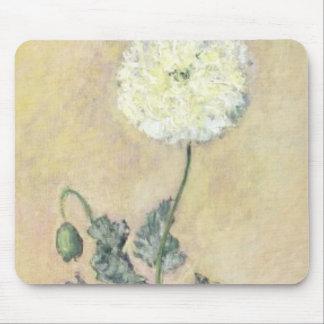 White Poppy, 1883 (oil on canvas) Mousepad