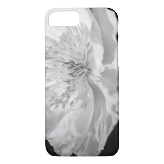 White Poppy iPhone 8/7 Case