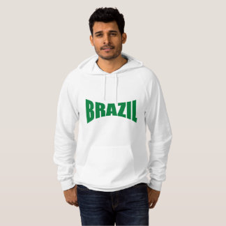 White Pullover with hood BRAZIL