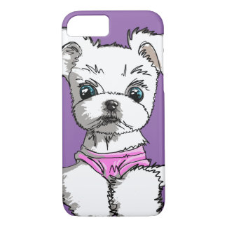 White Puppy - Cute Dog Collection / Phone Case