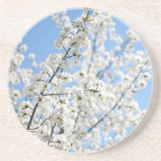 White Purity Coaster