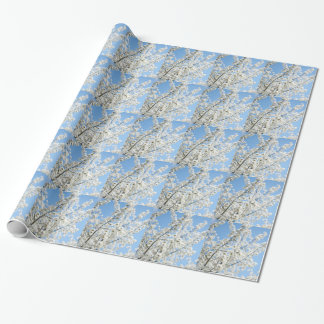 White Purity Wrapping Paper
