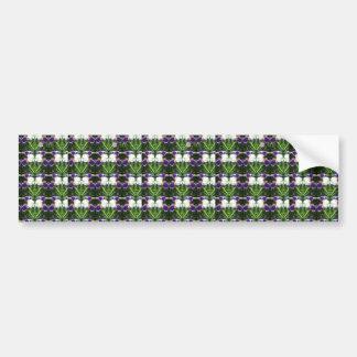 White Purple Green Show CherryHILL NVN217 NavinJOS Bumper Sticker