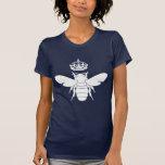 White Queen Bee Logo...Are You A Queen Bee? Tee Shirt