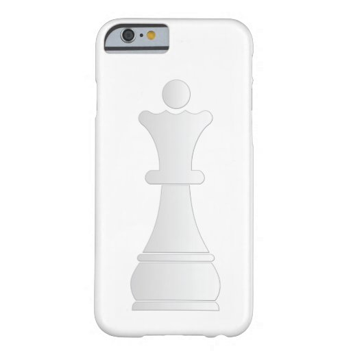 White queen chess piece iPhone 6 case