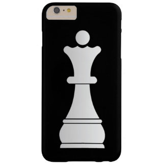 White queen chess piece barely there iPhone 6 plus case