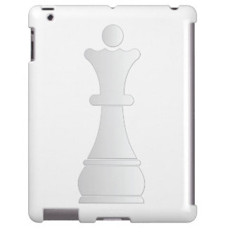White queen chess piece