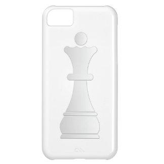 White queen chess piece iPhone 5C case