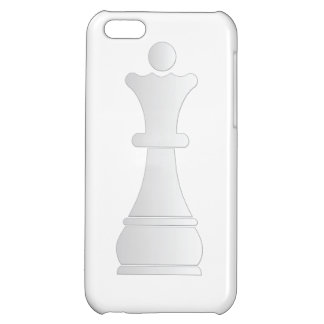 White queen chess piece iPhone 5C covers