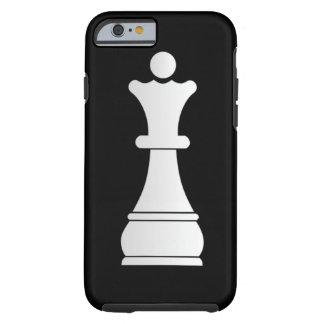 White queen chess piece tough iPhone 6 case