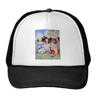 White Queen, Red Queen & Queen Alice Do Lunch Trucker Hat