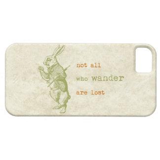 White Rabbit, Alice in Wonderland iPhone 5 Cases