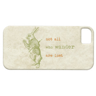 White Rabbit Alice in Wonderland iPhone 5 Cases