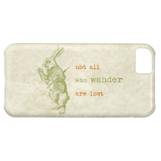 White Rabbit, Alice in Wonderland iPhone 5C Case