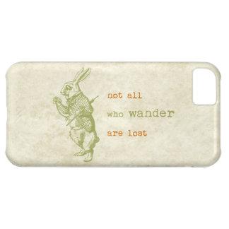 White Rabbit Alice in Wonderland iPhone 5C Cover