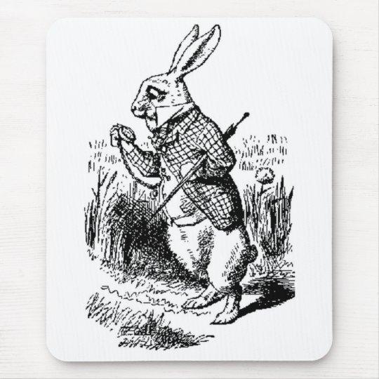 White Rabbit - Alice in Wonderland Mousepad