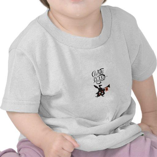 White Rabbit, Alice In Wonderland T Shirts