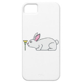 White Rabbit and Flower. iPhone 5 Cover