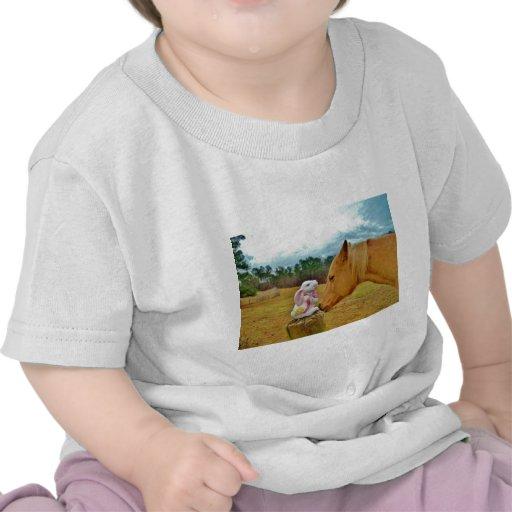 White Rabbit and Yellow Horse Tee Shirts