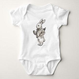 White Rabbit Baby Bodysuit