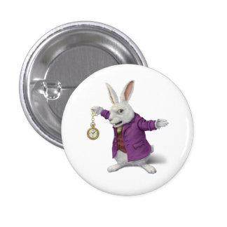White Rabbit Badge