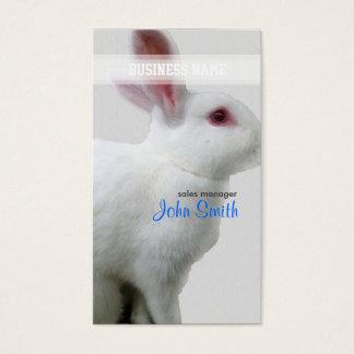 White Rabbit Business Card
