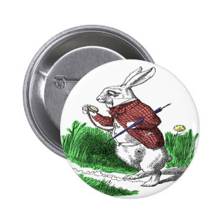 White Rabbit Button