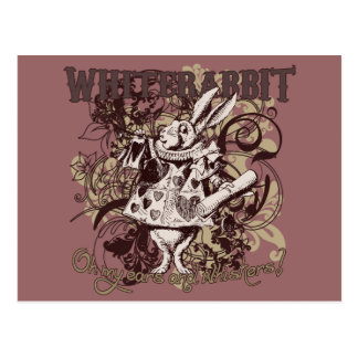 White Rabbit Carnivale Style Postcards