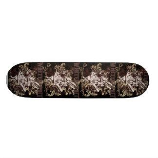 White Rabbit Carnivale Style Skateboard Deck