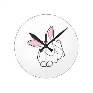 White Rabbit Wall Clocks