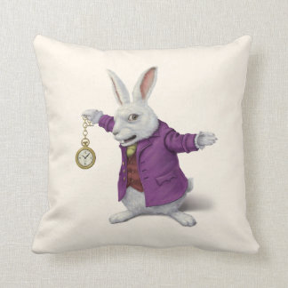 White Rabbit Cushion