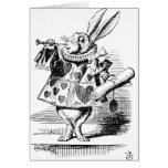 White Rabbit dressed as Herald