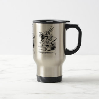 White Rabbit dressed as Herald Travel Mug
