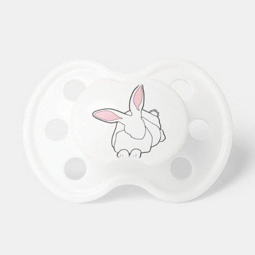 White Rabbit Pacifier