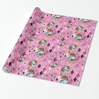 White Rabbit gift wrap Wonderland wrapping paper