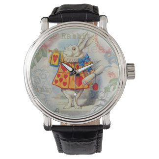 White Rabbit Hearts Watch
