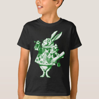 White Rabbit Herald Inked Green T-Shirt