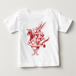 White Rabbit Herald Inked Red Baby T-Shirt
