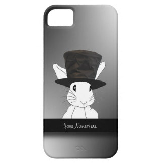 White Rabbit  in Top Hat iPhone 5 Case