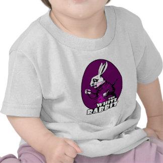 White Rabbit Logo Purple Shirts