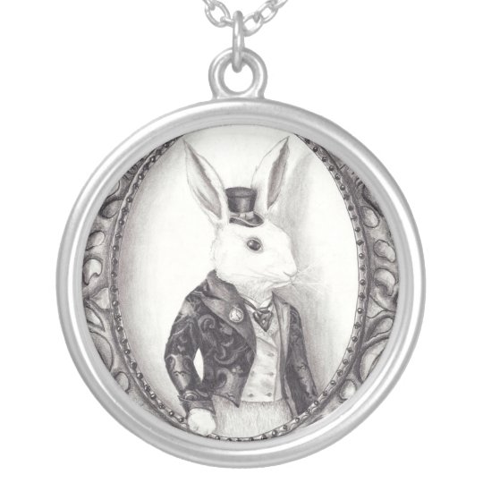 White Rabbit Necklace White Rabbit Jewellery